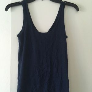 Lucky Brand- NWT blue tank top XS